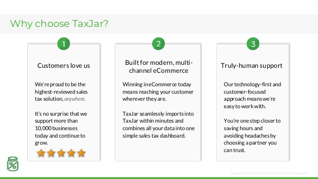 taxjar pricing